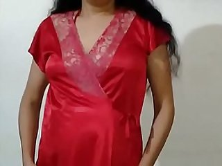 Indian bhabhi bares well-found all