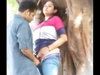 Upsetting Indian Lovers - Public Sex
