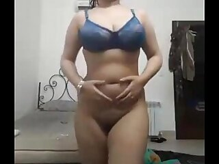 Indian Girl Removing Clothes On Webcam