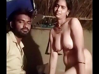 Indian village girl (Madhya Pradesh) coetaneous 2020 clear Hindi audio, (part )3 call 9131944771
