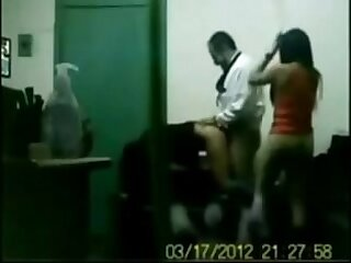 indian boss fucking his office girls in group sex in cabin