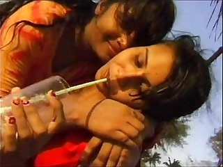 Indian Entreaty Girls From Mumbai Seducing Foriegn Traveller In Hotel Less Triptych Hardcore Fuck