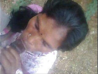 indian maid blowjob cumshot outside
